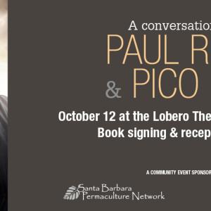 A Conversation With Paul Relis & Pico Iyer - Lobero Theatre, October 12, 2015